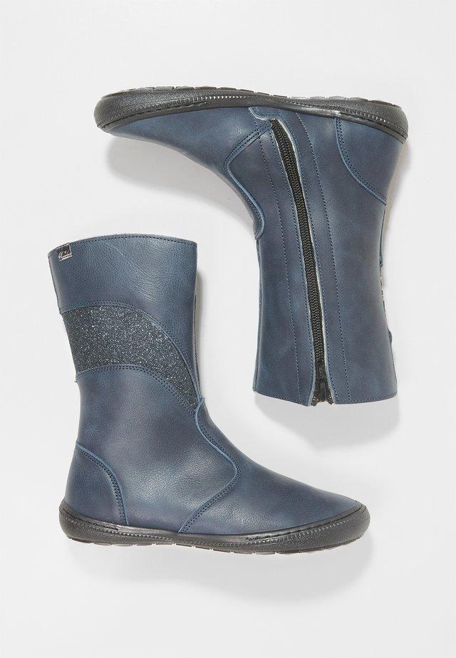 Klassiska stövlar - blu scuro