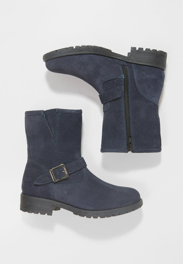 Bottines - navy