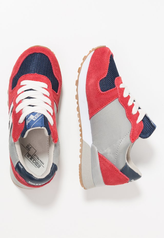 Sneakersy niskie - red/blue/white