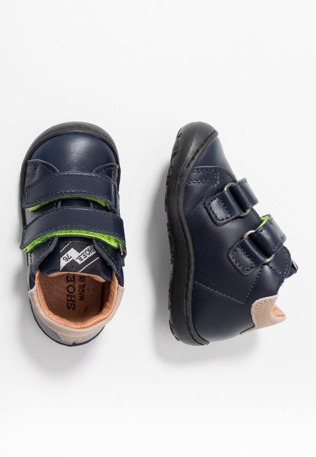 Lära-gå-skor - blu scuro