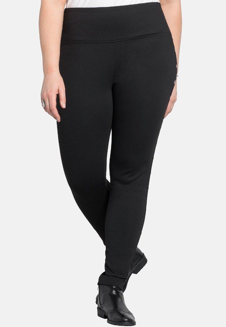 Sheego - Leggings - Trousers - black