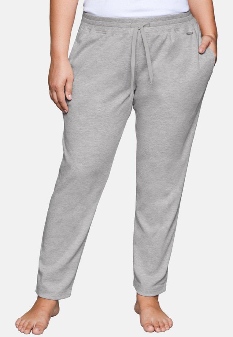 Sheego - Jogginghose - mottled light grey