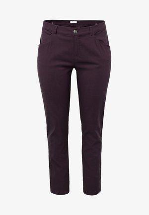 Pantalon classique - plum