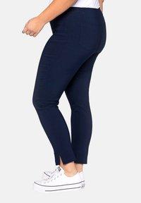 Sheego - HOSE - Trousers - dark blue - 2