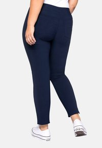 Sheego - HOSE - Trousers - dark blue - 1