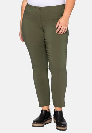 HOSE - Pantalon classique - dark khaki