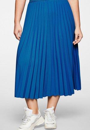 A-line skirt - ocean blue