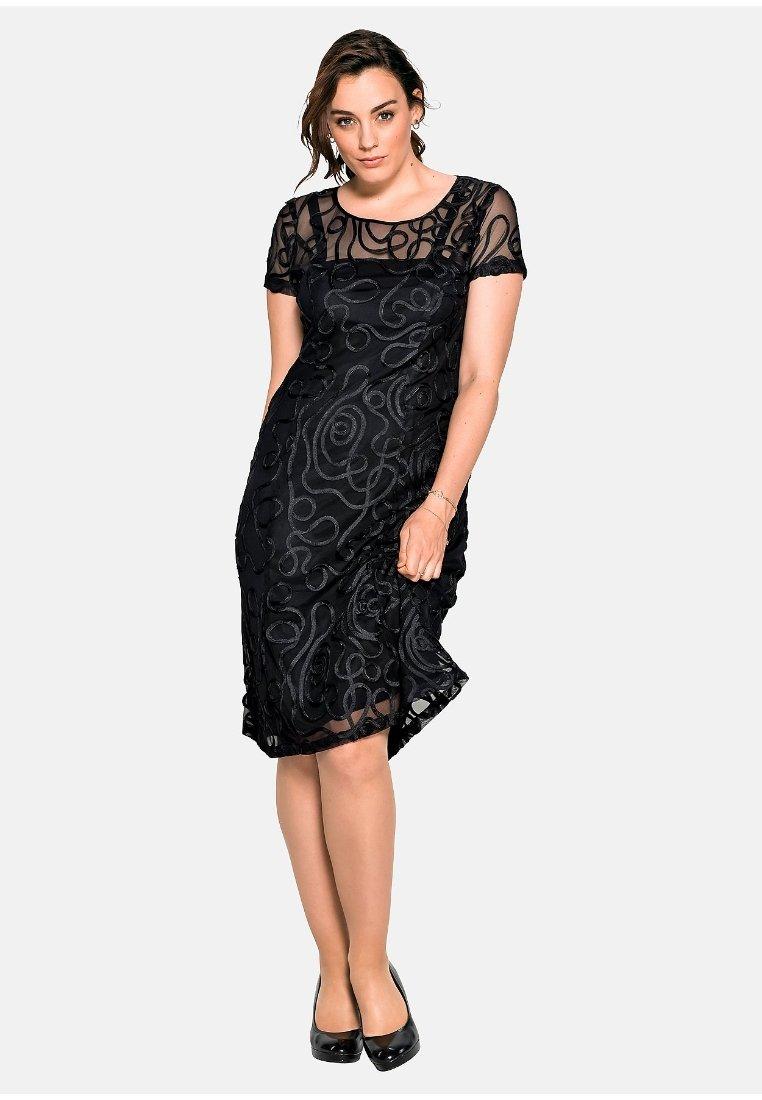 Sheego - Cocktail dress / Party dress - schwarz