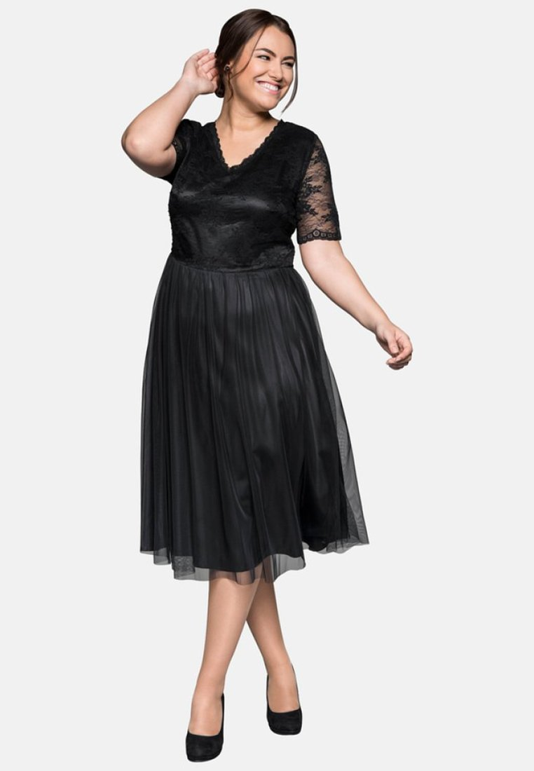 Sheego - Cocktail dress / Party dress - black