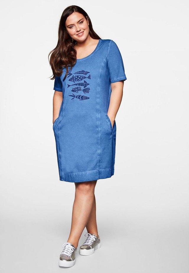 Jerseyjurk - azurblau