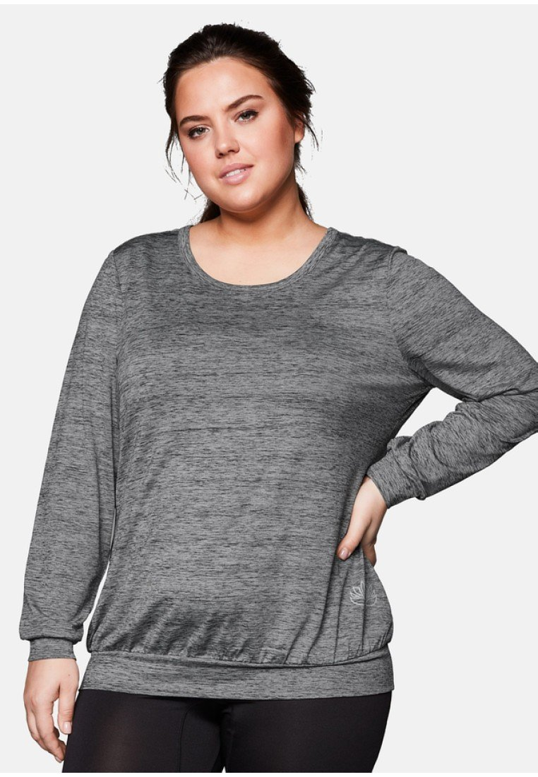 Sheego - Blouse - heather gray