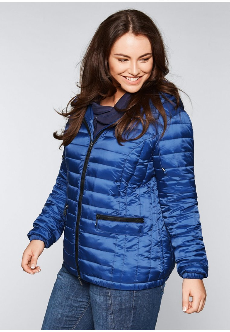 Sheego - Winterjacke - royal blue