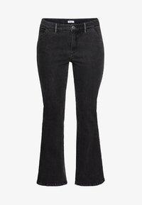 Sheego - Jeans bootcut - black denim - 4