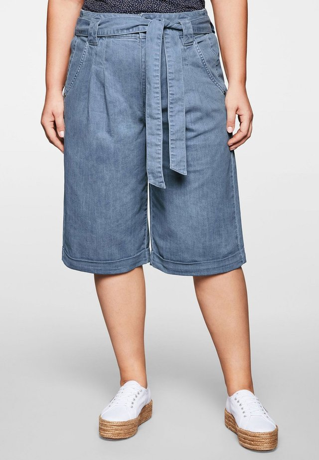 Shorts di jeans - light blue denim