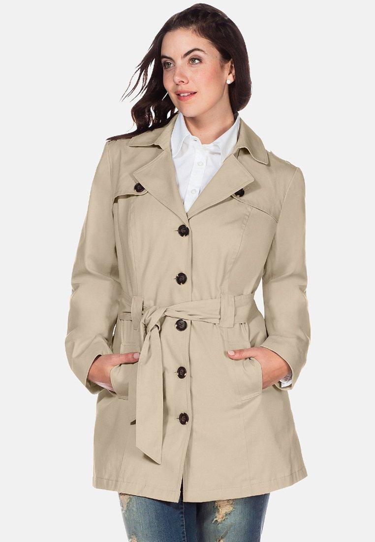 Sheego - Trenchcoat - beige