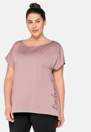 Print T-shirt - hellmauve