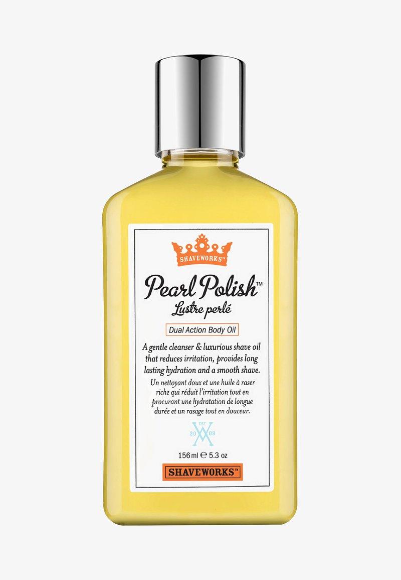 Shaveworks - PEARL POLISH DUAL ACTION BODY OIL 156ML - Épilation - -