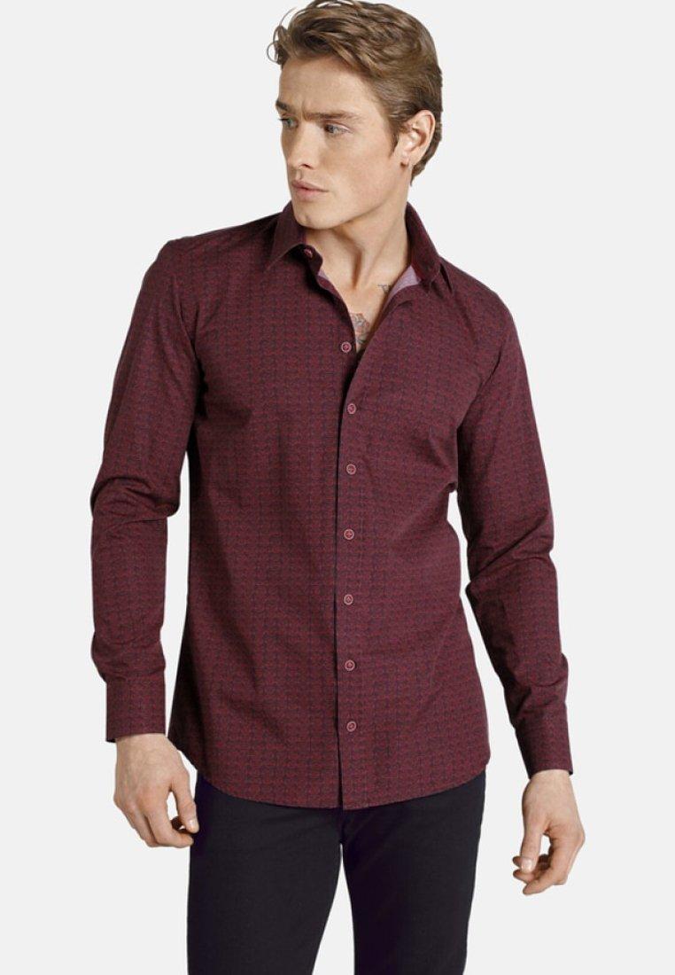SHIRTMASTER - MILLIONKISSES - Shirt - dark red