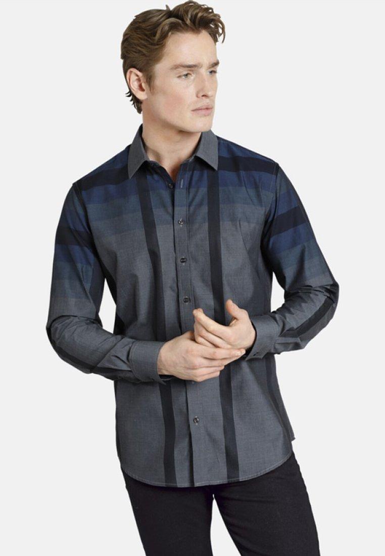 SHIRTMASTER - BLACKCHECK - Shirt - gray