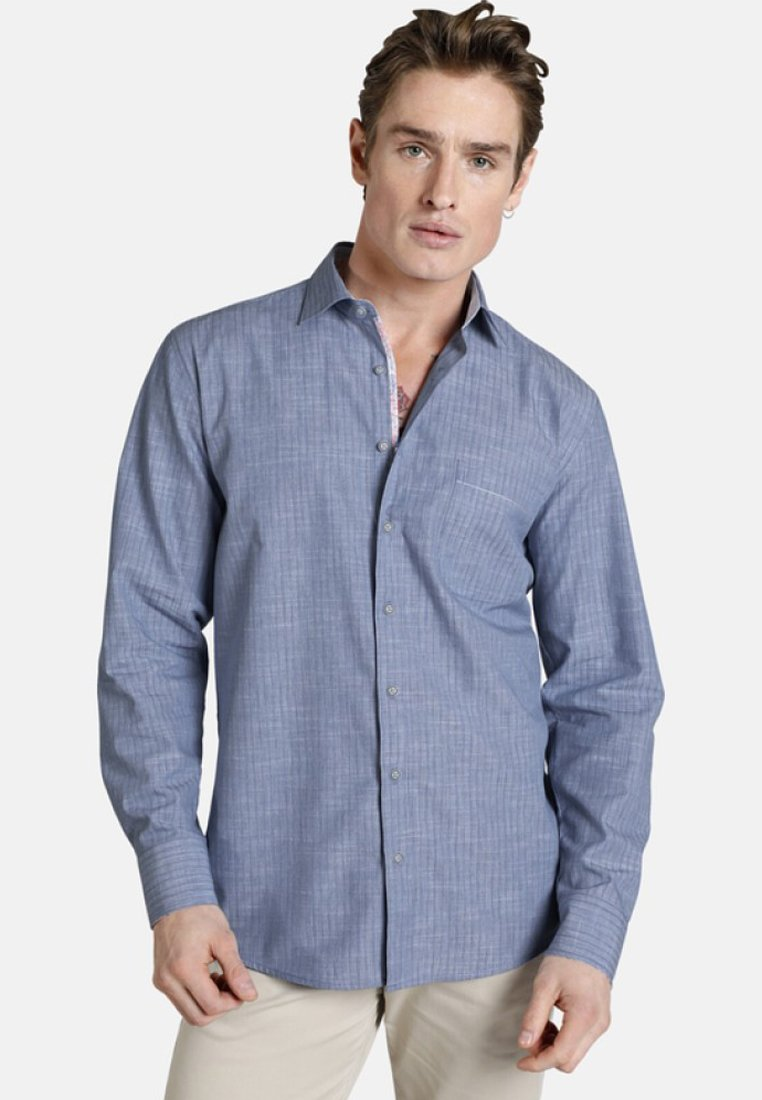 SHIRTMASTER - BLUEANDCORAL - Shirt - blue