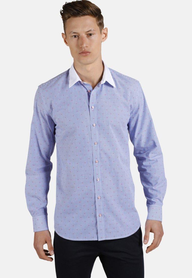 SHIRTMASTER - WHITE COLLAR GUY - Hemd - blue/white
