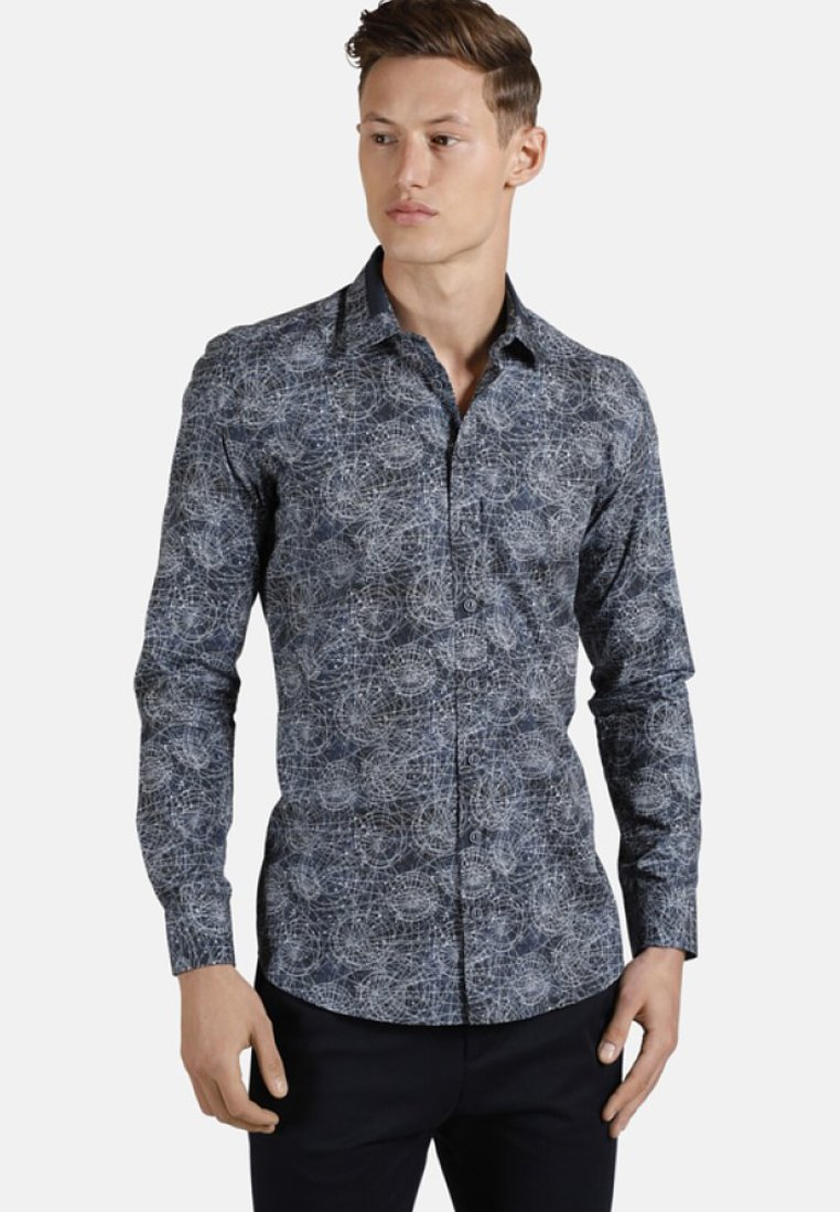 SHIRTMASTER - GALAXIES - Shirt - blue