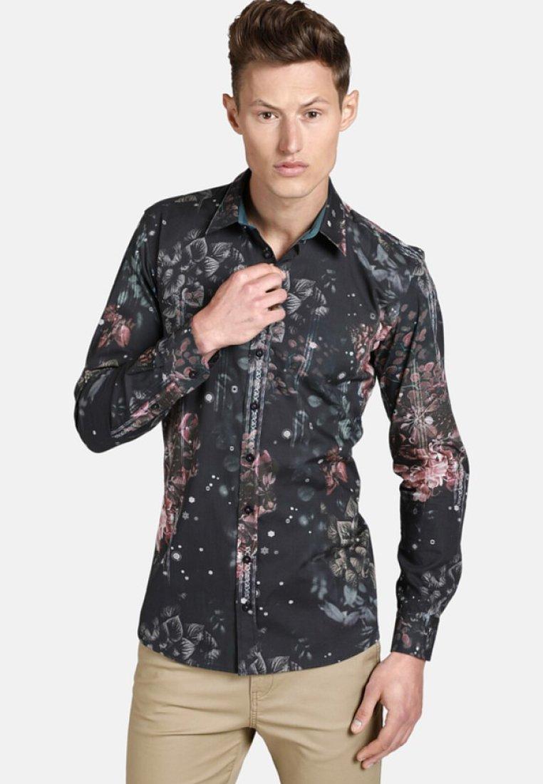 SHIRTMASTER - NOFLOWERSPLEASE - Shirt - black