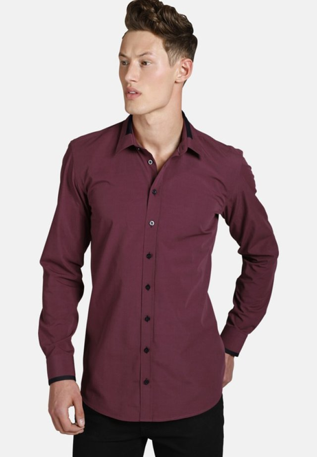 TIMEFORWINE - Shirt - dark red