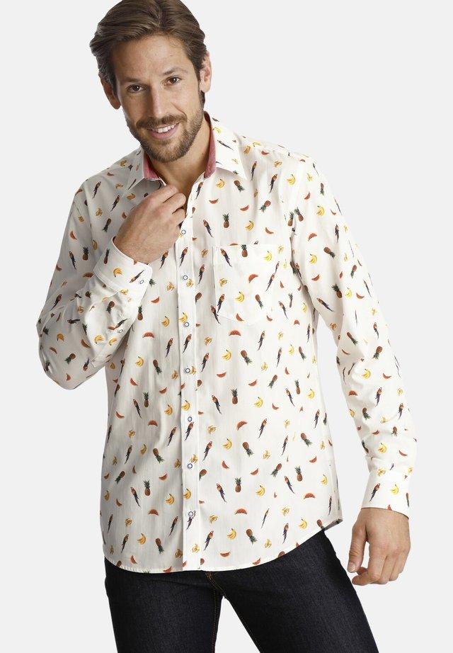 PARROTMEETSFRUIT - Shirt - white