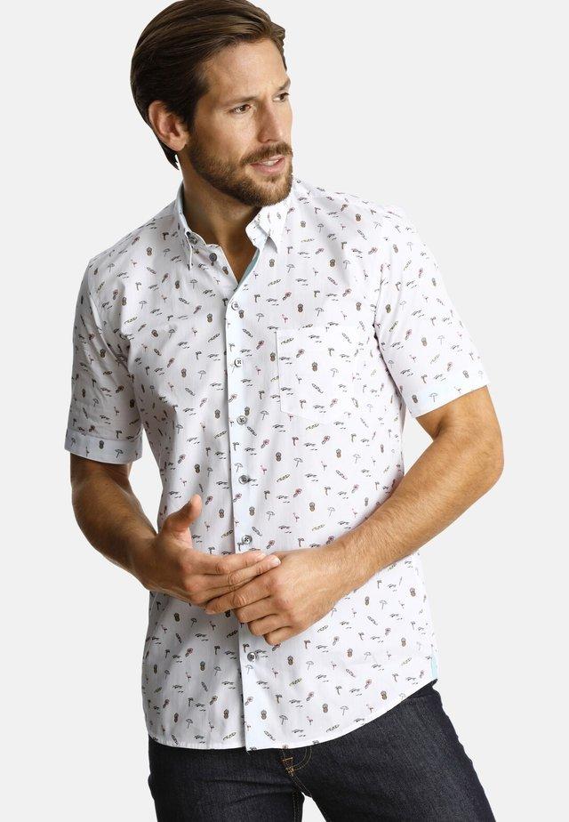 LIFEONBEACHES - Shirt - white