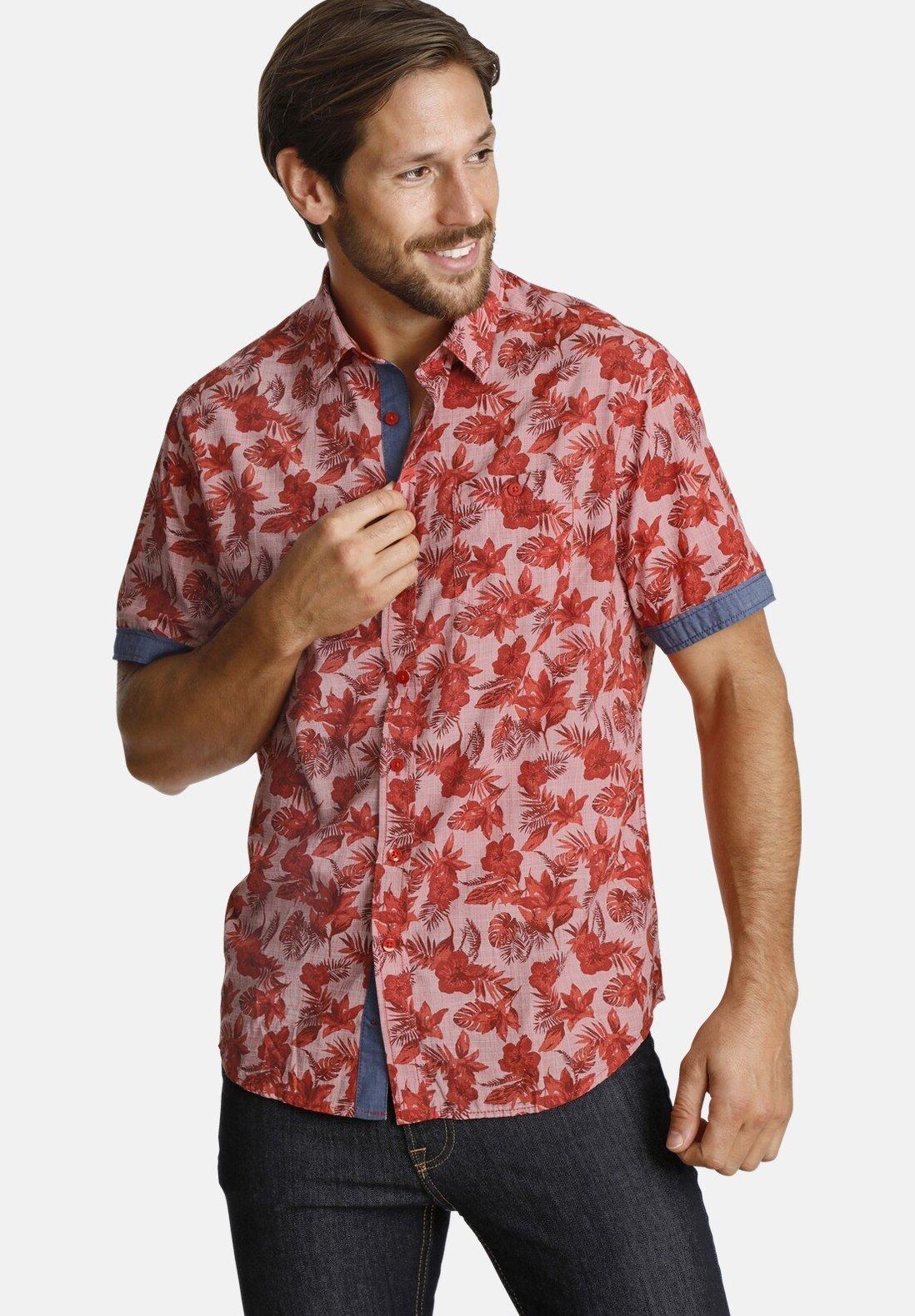SHIRTMASTER Shirt - red