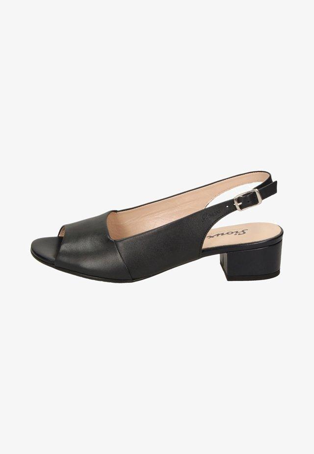 ZIPPORA - Peep toes - black