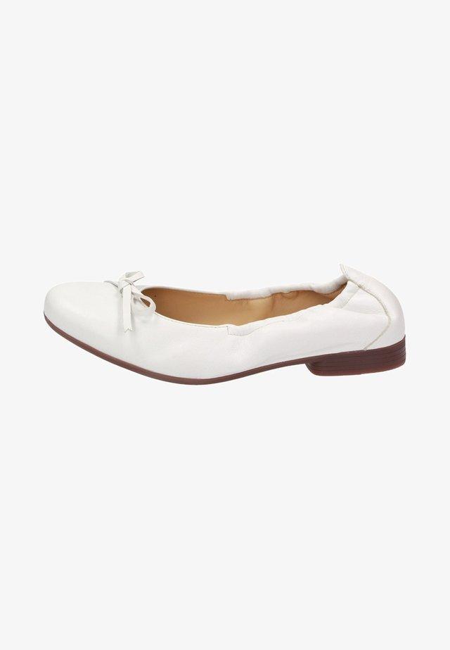 DORLINE - Ballet pumps - white