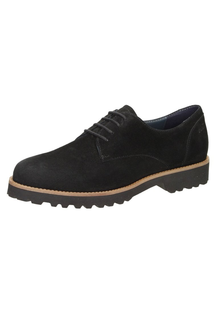 Sioux MeredithChaussures Black Sioux Lacets Lacets À Black À MeredithChaussures ScLj4Aq35R