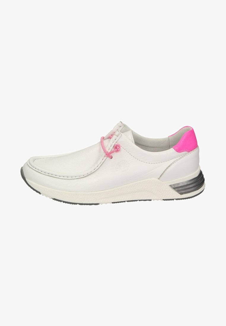Sioux - GRASH - Casual lace-ups - white