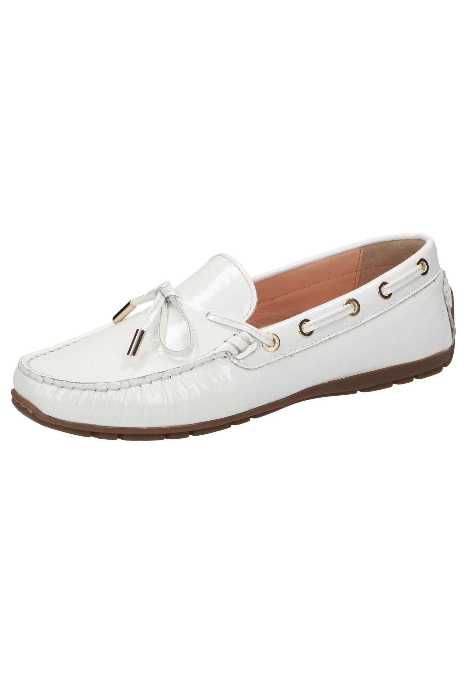 Sioux Carmona - Chaussures Bateau White