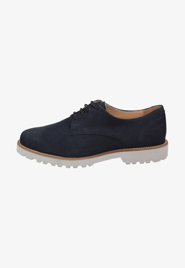 MEREDITH - Casual lace-ups - blue