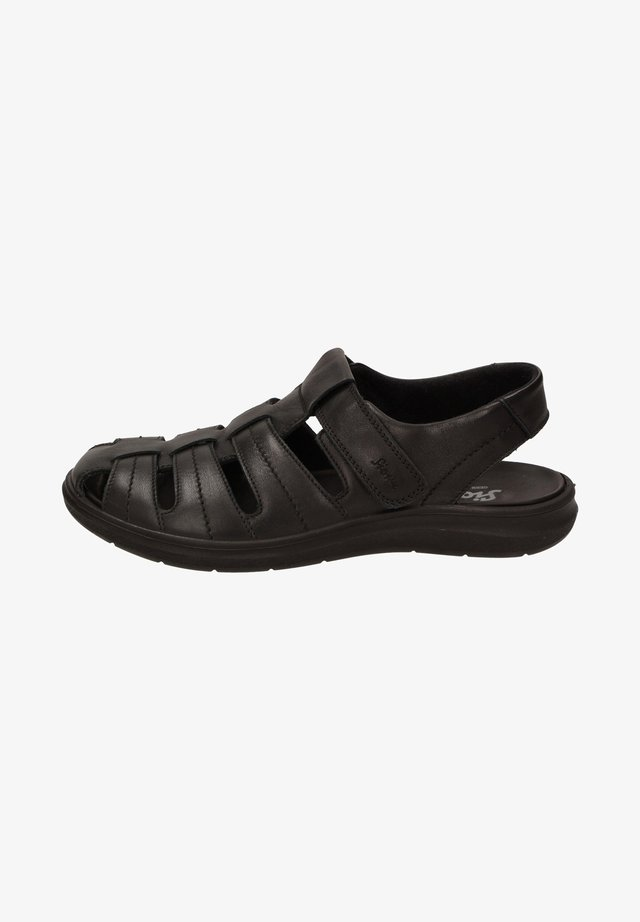LUAMIC - Walking sandals - black