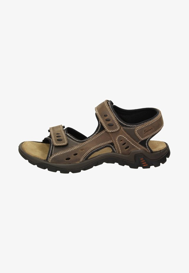 UPENDARO - Walking sandals - brown