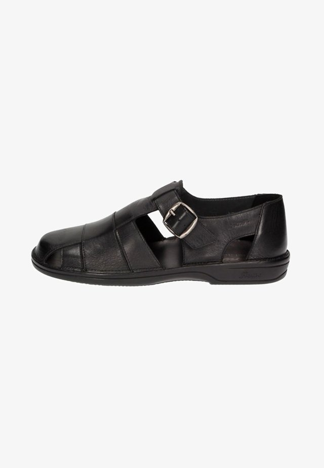 GABUN - Walking sandals - black
