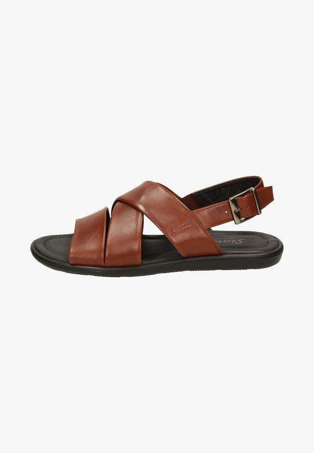 MIRTAS - Sandals - brown