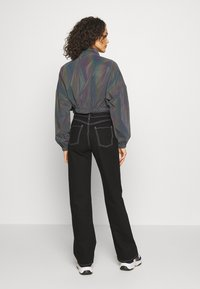 Sixth June - CROPPED IRIDESCENT JACKET - Sportovní bunda - black - 2