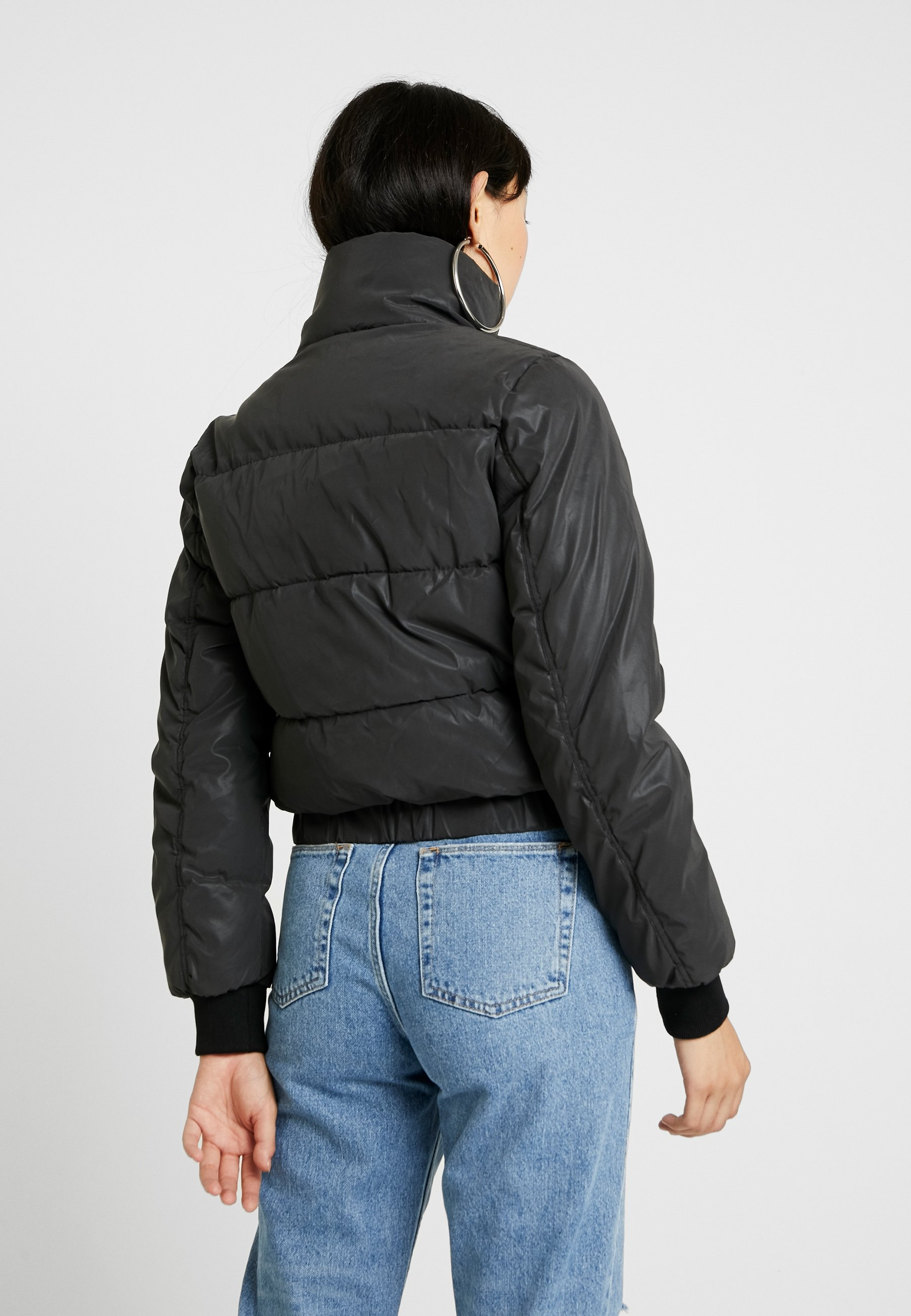 D'hiver Neck Puffer Reflective Turtle CollarVeste Jacket Sixth June With Black ZkXiPu