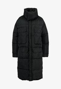 Sixth June - OVERSIZE PUFFER WITH FRONT POCKETS - Zimní kabát - black - 4