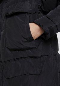 Sixth June - OVERSIZE PUFFER WITH FRONT POCKETS - Zimní kabát - black - 5