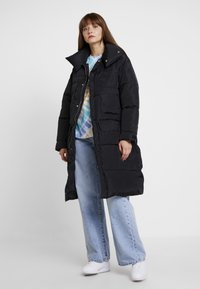Sixth June - OVERSIZE PUFFER WITH FRONT POCKETS - Winter coat - black - 1