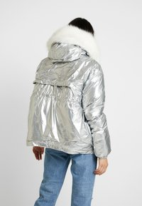 Sixth June - PUFFER HOOD - Giacca invernale - silver - 2