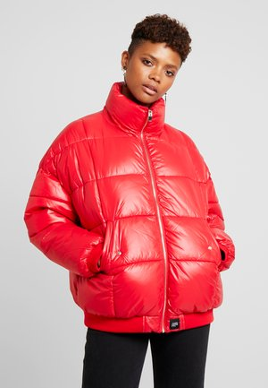 PUFFER ZIP POCKET - Winter jacket - redx