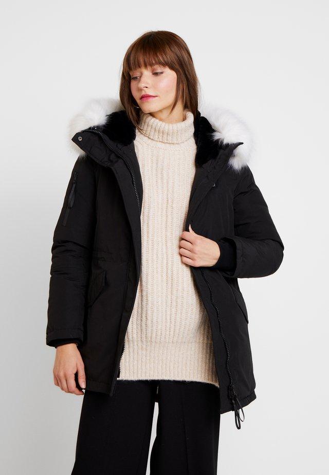 HEAT CONTROL - Zimní kabát - black