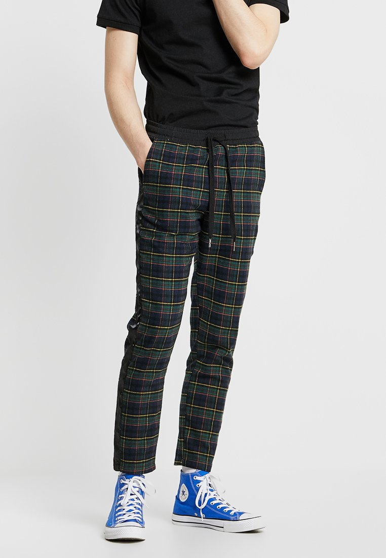 Sixth June - TROUSERS TARTAN - Stoffhose - green